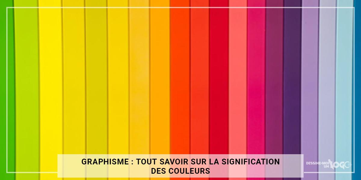 Graphisme : tout savoir sur la signification des couleurs